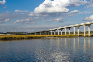 Edisto Island Bridge