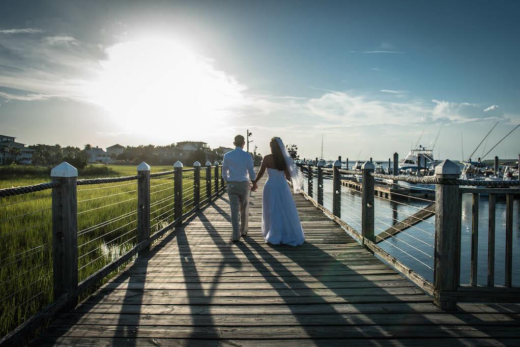 beach wedding edisto sc
